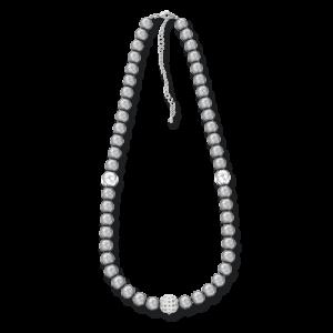 Ожерелье из серого жемчуга